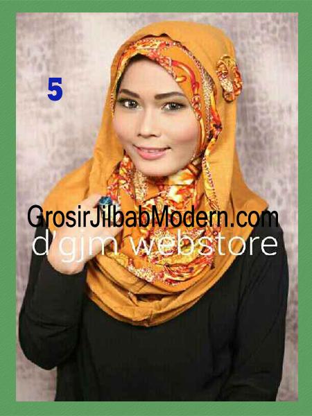 Jilbab Instant Syria Hoodie Latifa Trendy No 5