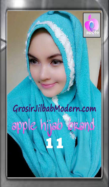 Jilbab Pashmina Instant Esme Praktis by Apple Hijab Brand No 11 Biru Toska