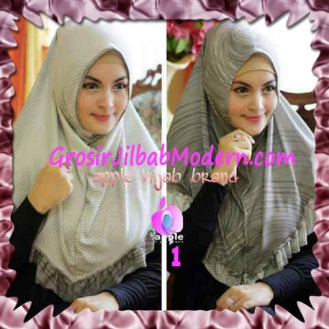 Jilbab Syria Bolak Balik Abstrak Cantik by Apple Hijab Brand No 1 Abu