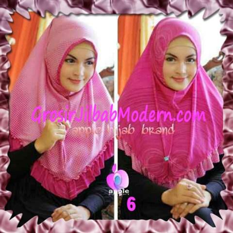 Jilbab Syria Bolak Balik Abstrak Cantik by Apple Hijab Brand No 6 Fanta