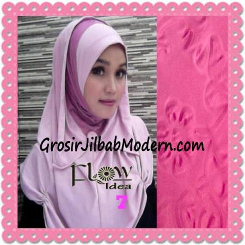 Jilbab Syria Modis Padma Original by Flow Idea No 7 Baby Pink