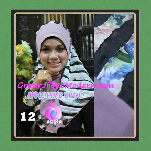Jilbab Syria Sofia Frill Modis by Apple Hijab Brand No 12 Lylac