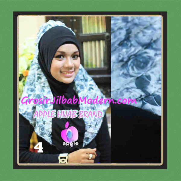 Jilbab Syria Sofia Frill Modis by Apple Hijab Brand No 4 Hitam