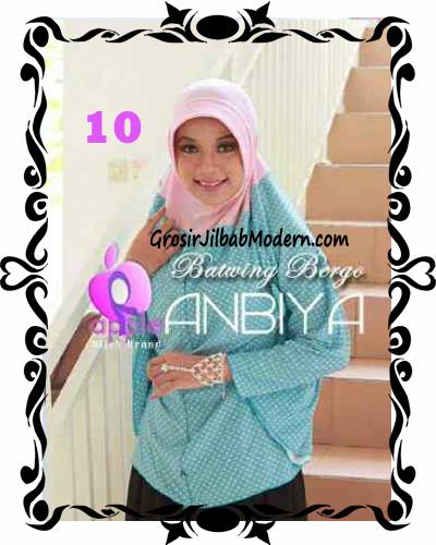 Jilbab Batwing Bergo Anbiya Praktis by Apple Hijab Brand No 10