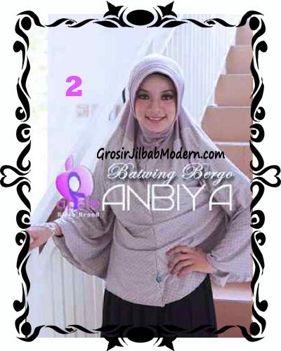 Jilbab Batwing Bergo Anbiya Praktis by Apple Hijab Brand No 2