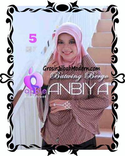 Jilbab Batwing Bergo Anbiya Praktis by Apple Hijab Brand No 5