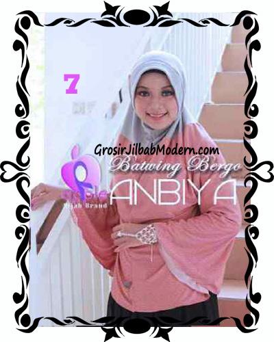 Jilbab Batwing Bergo Anbiya Praktis by Apple Hijab Brand No 7