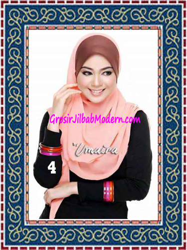 Jilbab Instant Model Baru Hazmi Trendy No 4