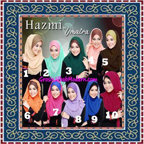 Jilbab Instant Model Baru Hazmi Trendy Series
