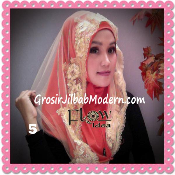 Jilbab Modern Syria Hoodie Tutu Ladiva Original By Flow Idea No 5 Orens Kuning