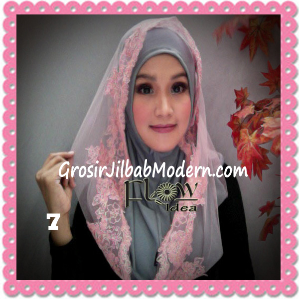 Jilbab Modern Syria Hoodie Tutu Ladiva Original By Flow Idea No 7 Abu Pink
