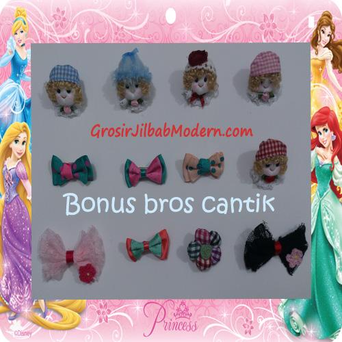 Jilbab Cerutti Cantik Mijwad For Kids Original by Qalisya - Bonus Bros Cantik