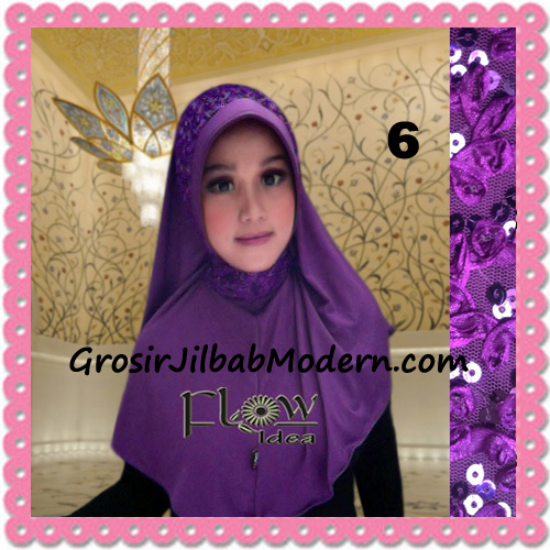 Jilbab Instant Syria Bergo Pet Modern Amira Cantik by Flow Idea No 6 Ungu