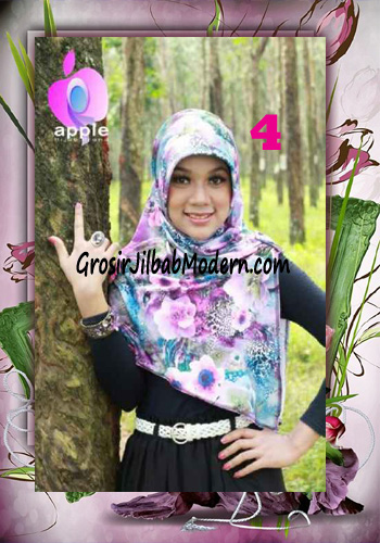 Jilbab Pet Modis Arzety Jameela Original by Apple Hijab Brand No 4