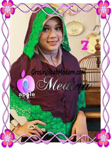Jilbab Syar'i Medina Model Capuchon Original by Apple Hijab Brand No 7