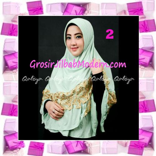 Jilbab Syar'i Qisya Renda 3 Dimensi Original by Qalisya No 2
