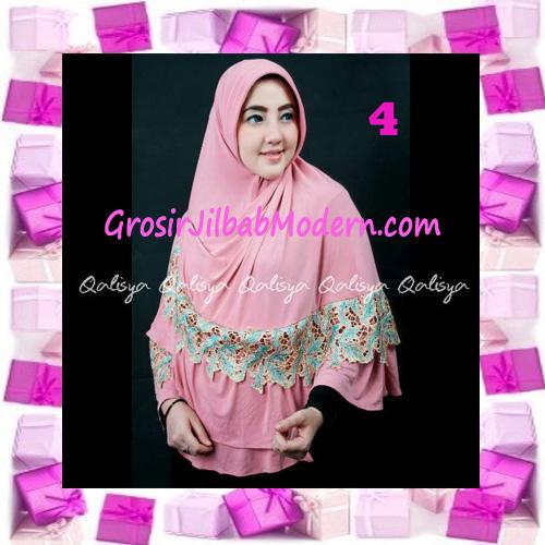 Jilbab Syar'i Qisya Renda 3 Dimensi Original by Qalisya No 4
