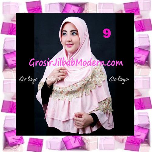 Jilbab Syar'i Qisya Renda 3 Dimensi Original by Qalisya No 9