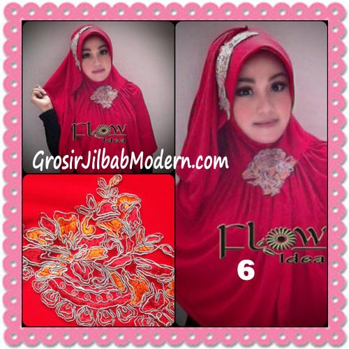 Jilbab Syria Bergo Shakeela Trendy dan Syar'i by Flow Idea No 6 Merah