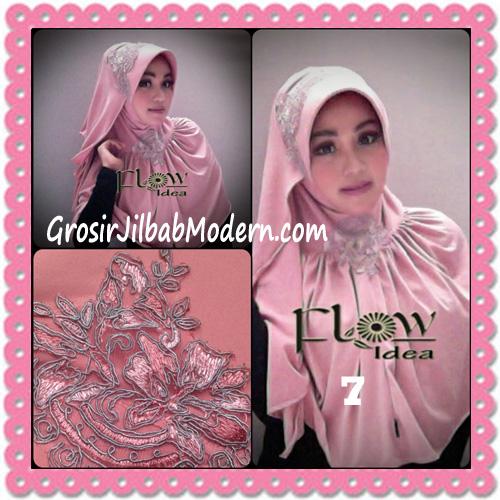 Jilbab Syria Bergo Shakeela Trendy dan Syar'i by Flow Idea No 7 Dusty Pink
