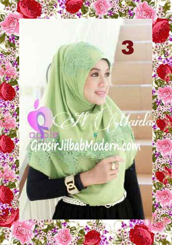 Jilbab Syria Instant Almaida Prada Edisi Lebaran by Apple Hjab Brand No 3