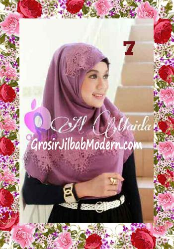 Jilbab Syria Instant Almaida Prada Edisi Lebaran by Apple Hjab Brand No 7