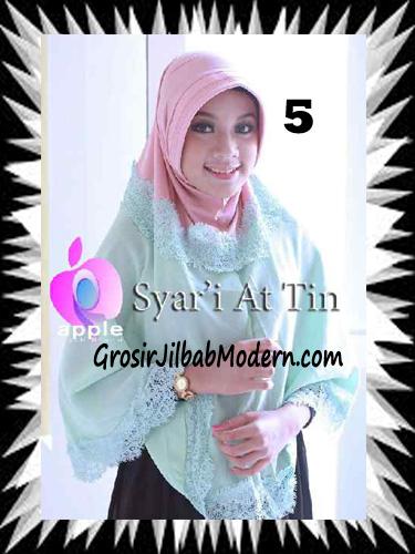 Jilbab Syria Syar'i At-Tin Exclusive by Apple Hijab Brand No 5