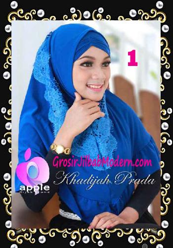 Jilbab Syria Syar'i Khadijah Prada Premium by Apple Hijab Brand No 1 Benhur