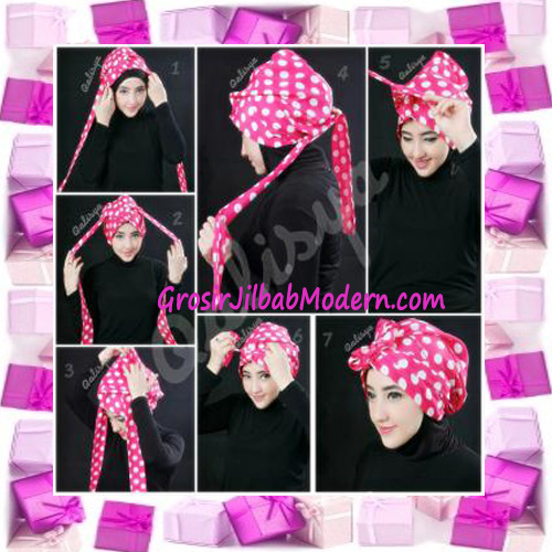 Turban Aisy Trendy & Chic Model Baru by Qalisya - Cara Pemakaian