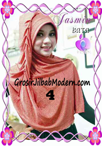 Jilbab Instant Modis Praktis Yasmin Premium by Apple Hijab Brand No 4 Bata