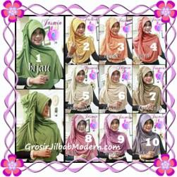 Jilbab Instant Modis Praktis Yasmin Premium by Apple Hijab Brand Series