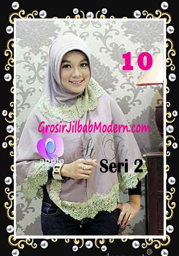 Jilbab Syar'i At Tin Exclusive Seri 2 by Apple Hijab Brand No 10