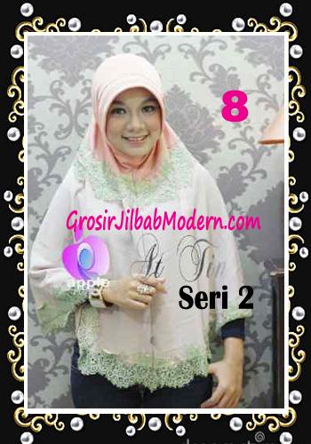 Jilbab Syar'i At Tin Exclusive Seri 2 by Apple Hijab Brand No 8