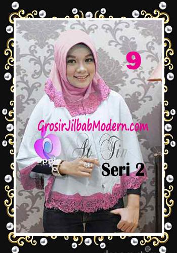 Jilbab Syar'i At Tin Exclusive Seri 2 by Apple Hijab Brand No 9