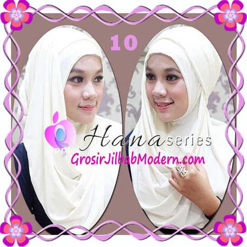 Pashmina Cantik Instant Hanna ala Dewi Sandra Sinetron CHSI Original by Apple Hijab Brand No 10 Putih Tulang