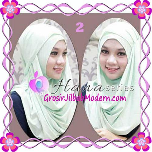 Pashmina Cantik Instant Hanna ala Dewi Sandra Sinetron CHSI Original by Apple Hijab Brand No 2 Mint