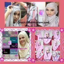 Pashmina Cantik Instant Hanna ala Dewi Sandra Sinetron CHSI Original by Apple Hijab Brand ( Restock )