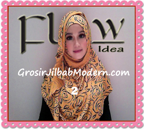 Jilbab Instant Syria Layer Rosella By Flow Idea Terbaru No 2 Kuning