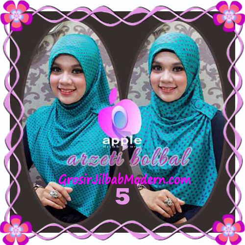 Jilbab Syria Arzety Bolak Balik Polka Bintang Original Apple Hijab Brand No 5 Tosca