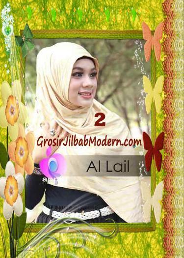 Jilbab Syria Instant Modern Al Lail Salur Original By Apple Hijab Brand No 2 Cream
