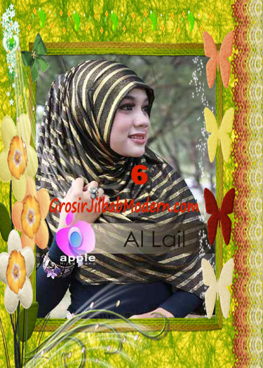 Jilbab Syria Instant Modern Al Lail Salur Original By Apple Hijab Brand No 6 Hitam