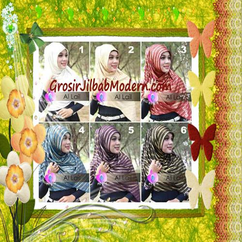 Jilbab Syria Instant Modern Al Lail Salur Original By Apple Hijab Brand Series