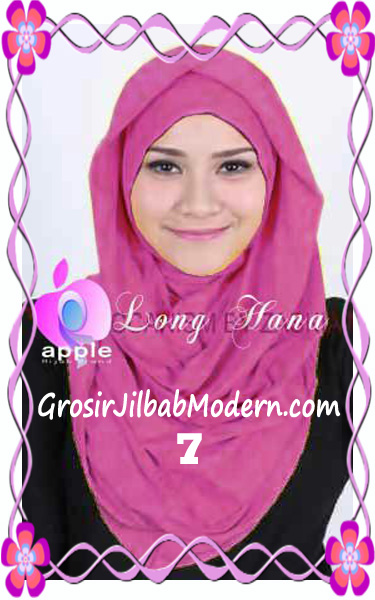 Jilbab Syria Long Hana Zaskia Original Apple Hijab Brand No 7 Fanta