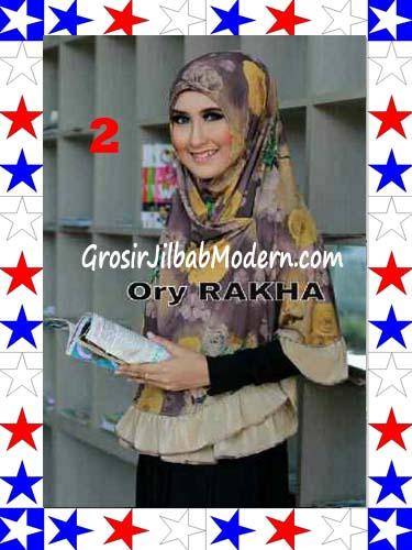 Jilbab Bolak Balik Jersey Flower 4 by Rakha No 2