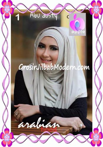 Jilbab Hoodie Instan Arabian by Apple Hijab Brand No 1 Abu Dusty