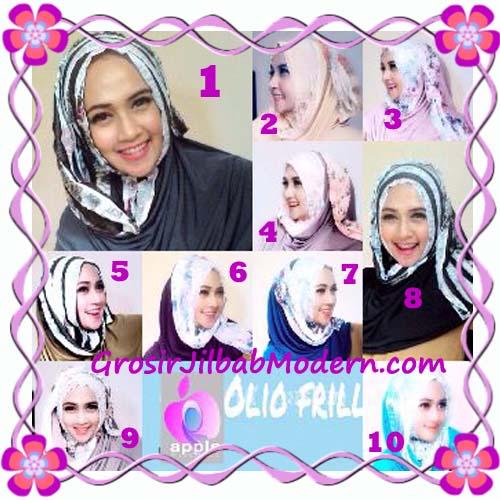 Pashmina Instant Modern Olio Original by Apple Hijab Brand Series
