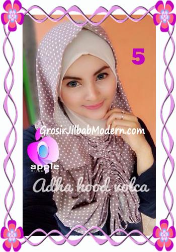 Jilbab Instant Modis Adha Hoodie Volca by Apple Hijab Brand No 5