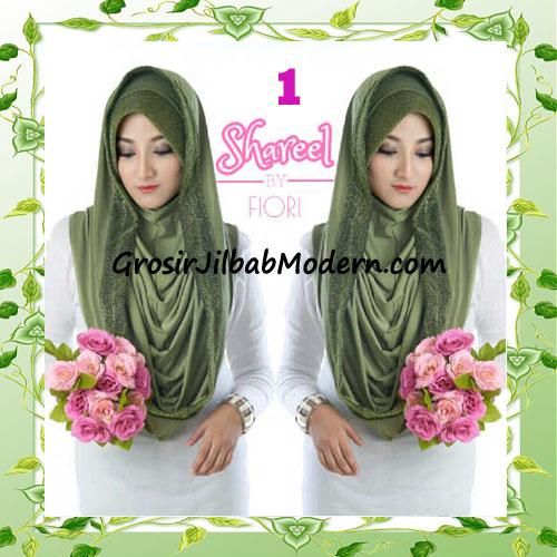 Jilbab Instant Simple Modis Syria Hoodie Shareel by Fiori Design No 1