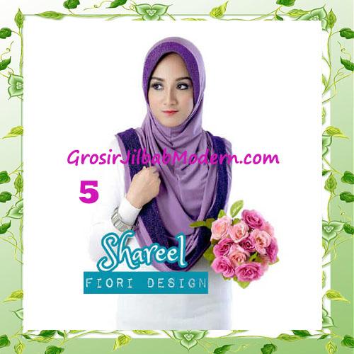 Jilbab Instant Simple Modis Syria Hoodie Shareel by Fiori Design No 5