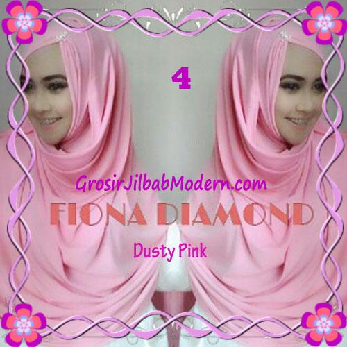 Jilbab Modern Fiona Diamond Syar'i Modis by Apple Hijab Brand No 4 Dusty Pink